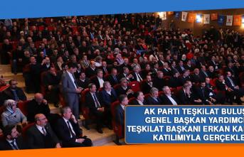 AK Parti Teşkilat Buluşması Başkan Kandemir'in Katılımıyla Gerçekleşti