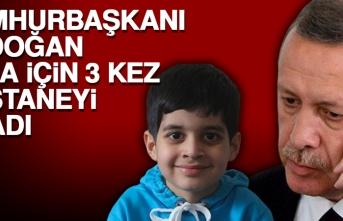 Cumhurbaşkanı Erdoğan, Taha İçin 3 Kez Hastaneyi Aradı