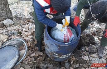Diyarbakır'daki ortak operasyonda 1 ton 351 kilogram esrar ele geçirildi