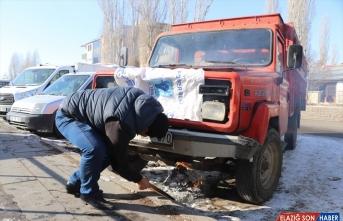 Doğu Anadolu'da dondurucu soğuklar yaşamı olumsuz etkiliyor
