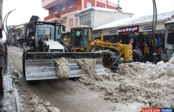 Doğu'da kardan kapanan 336 yol açıldı