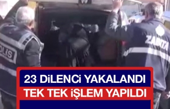 Elazığ'da Dilenci Operasyonu