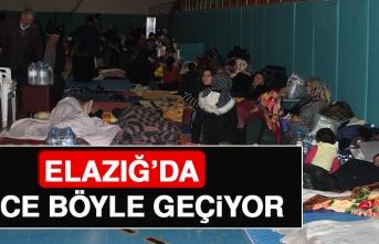 Elazığ'da Gece Böyle Geçiyor