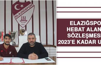 Elazığspor, Hebat Alan'ın Sözleşmesini 2023'e Kadar Uzattı