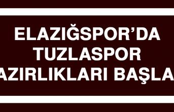 Elazığspor'da Tuzlaspor Hazırlıkları Başladı