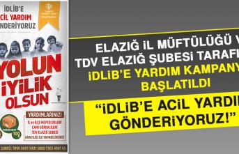"""""""İDLİB'E ACİL YARDIM GÖNDERİYORUZ!"""""""