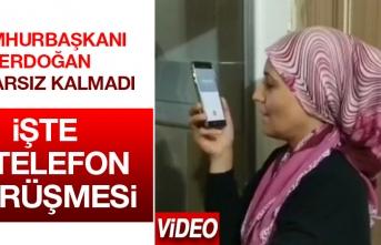İşte Cumhurbaşkanı Erdoğan'ın Taha'nın Annesiyle Yaptığı Görüşme