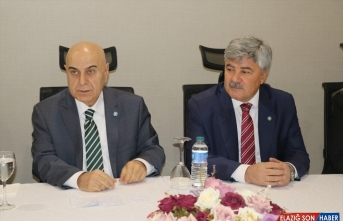 İYİ Parti Ekonomi Politikaları Başkanı Cihan Paçacı, Erzincan'da konuştu: