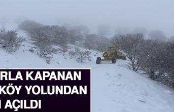 Karla Kapanan 73 Köy Yolundan 40'ı Açıldı