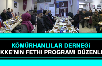 Kömürhanlılar Derneği, Mekke'nin Fethi Programı Düzenledi