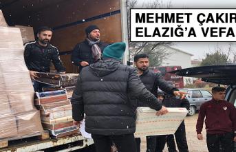 Mehmet Çakır'dan Elazığ'a Vefa…
