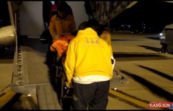 Nefes borusuna yiyecek kaçan çocuk, askeri ambulans uçakla Ankara'ya gönderildi
