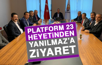 Platform 23 Heyetinden Yanılmaz'a Ziyaret