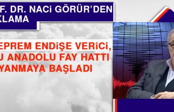Prof. Dr. Görür: Doğu Anadolu Fay Hattı Uyanmaya Başladı