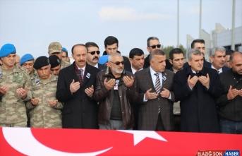 Şehit Uzman Çavuş Rahmi Kaya'nın cenazesi memleketi Erzurum'a uğurlandı
