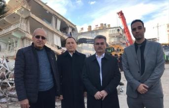 Suriye Türkmen Meclisi'nden deprem bölgesine geçmiş olsun ziyareti
