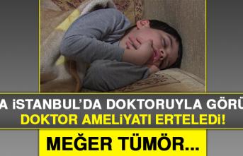Taha İstanbul'da Doktoruyla Görüştü
