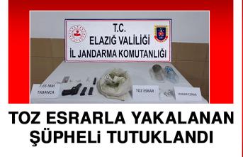 Toz Esrarla Yakalanan Şüpheli Tutuklandı