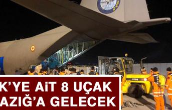 TSK'ya Ait 8 Uçak Elazığ'a Gidecek