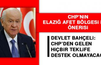 Bahçeli: CHP'den Gelen Hiçbir Teklife Destek Olmayacağız