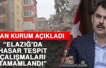 Bakan Murat Kurum, Hasar Tespit Çalışmaları Tamamlandı