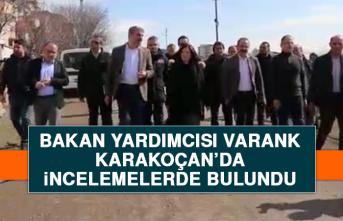 Bakan Yardımcısı Varank, Karakoçan'da İncelemelerde Bulundu