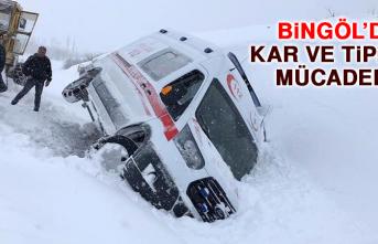 Bingöl'de Kar ve Tipiyle Mücadele