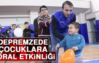 Depremzede Çocuklara Moral Etkinliği