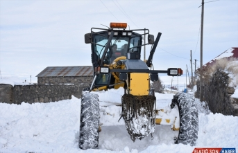 Doğu Anadolu'da 416 köy ve mahalle yolu ulaşıma kapalı