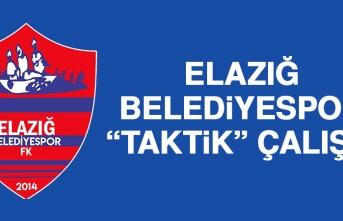 """Elazığ Belediyespor """"Taktik"""" Çalıştı"""