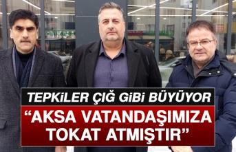 Elazığ Şehir Meclisi AKSA'ya Tepki Gösterdi