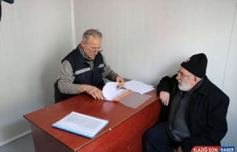 Elazığ'da 27 noktaya bilgilendirme konteynerleri kuruldu