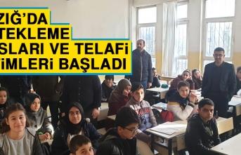 Elazığ'da Destekleme Kursları ve Telafi Eğitimleri Başladı