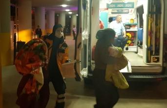 Erzincan'da evde çıkan yangında dumandan etkilenen 9 kişi hastaneye kaldırıldı
