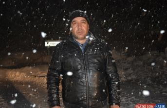 Hakkari'de kar ve çığ nedeniyle yolda mahsur kalanlar kurtarıldı
