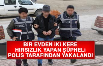 Hırsızlık Yapan Şüpheli, Polis Tarafından Yakalandı