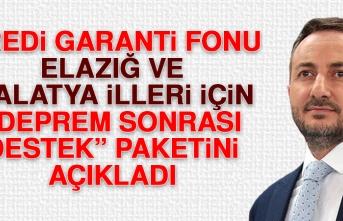 KGF Elazığ ve Malatya İlleri İçin Deprem Sonrası Destek Paketini Açıkladı