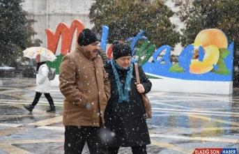 Malatya'da kar etkili oldu