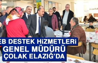 MEB Destek Hizmetleri Genel Müdürü Çolak Elazığ'da