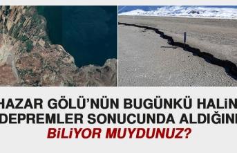 1874'de Meydana Gelen Deprem, Hazar Gölü'nde Su Akışını Durdurdu!