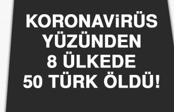 Koronavirüsü Nedeniyle Yurt Dışında 50 Türk Hayatını Kaybetti