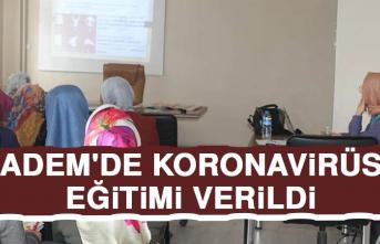 Adem'de Koronavirüs Eğitimi