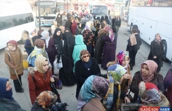 Ağrılı 300 kadına 8 Mart Dünya Kadınlar Günü hediyesi