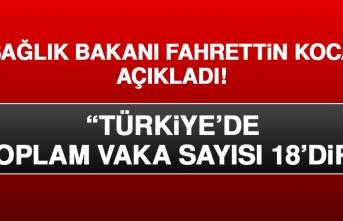 Bakan Koca, Türkiye'de Vaka Sayısının Arttığını Açıkladı