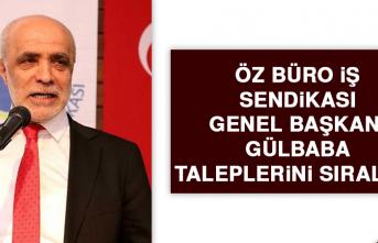 Başkan Gülbaba Taleplerini Sıraladı