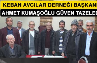 Başkan Kumaşoğlu Güven Tazeledi