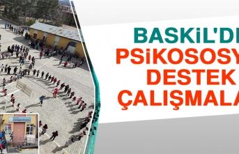 Baskil'de Psikososyal Destek Çalışmaları