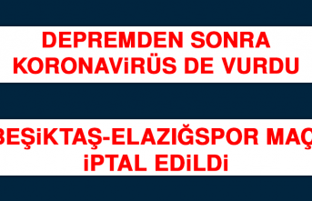 Beşiktaş-Elazığspor Maçı İptal Edildi