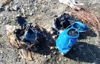 Bitlis'te yola tuzaklanan 60 kilogram el yapımı patlayıcı imha edildi