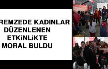 Depremzede Kadınlar Düzenlenen Etkinlikte Moral Buldu